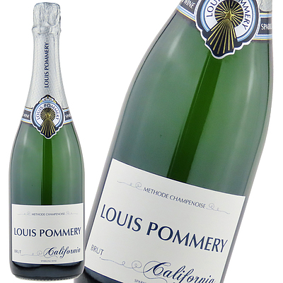 ポメリー社がカリフォルニアで手掛けるシャンパーニュ方式のスパークリングワイン。酸味とミネラルが調和した上品で繊細な味わい。 アメリカ カリフォルニア ルイ・ポメリー 750ml