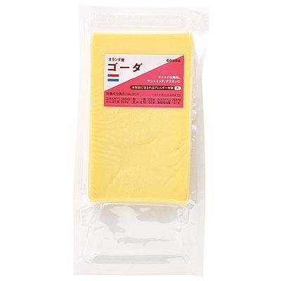 13世紀頃から作られているオランダを代表するチーズ [宅送] 口あたりは穏やかでミルクの甘みがほんのり感じられます オランダ 300g ゴーダ 着後レビューで 送料無料