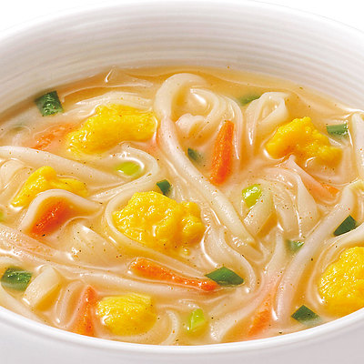 まろやかなココナッツミルクのコクと甘みに香辛料を効かせて仕上げました。 成城石井 スープフォー シンガポール風ラクサ 5食
