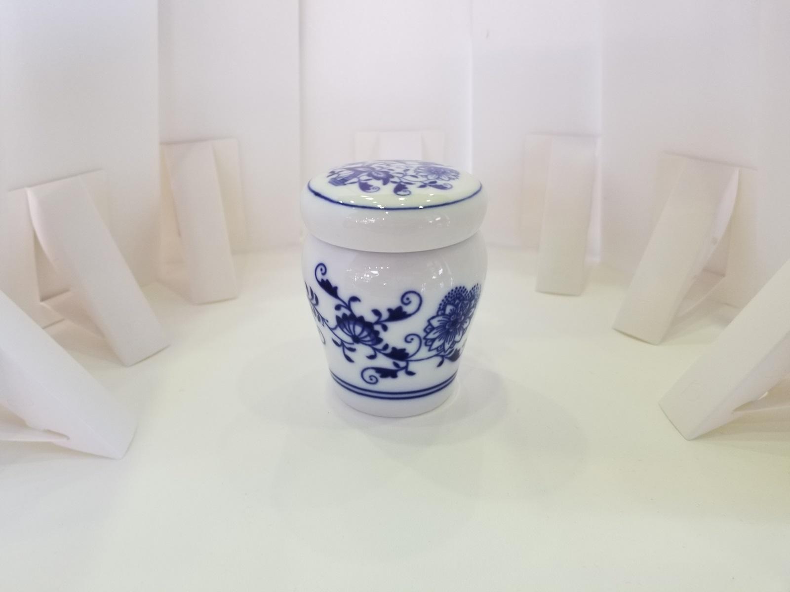 世界三大ブルーオニオンの1つボヘミアンブルーオニオン ヨーロッパから心安らぐ磁器の逸品です Soul ブルーオニオン トラディショナル PetitPot 安心の定価販売 おトク