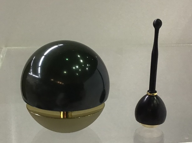 国産品 高岡銅器 たまゆら18 深海色 黒檀たまゆら棒付