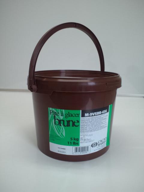 【カカオバリー】パータグラッセ ブリュン 5kg<コーティング>