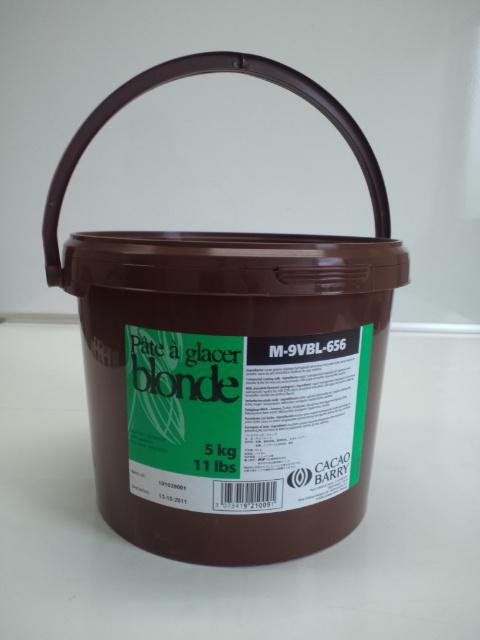 【カカオバリー】パータグラッセ ブロンド 5kg<コーティング>