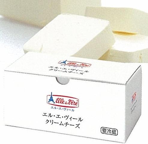 【エル・エ・ヴィール】クリームチーズ 1kg×12