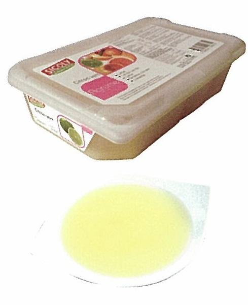 【シコリ】冷凍シトロンヴェールピューレ(無糖) 1kg×6<ライム>