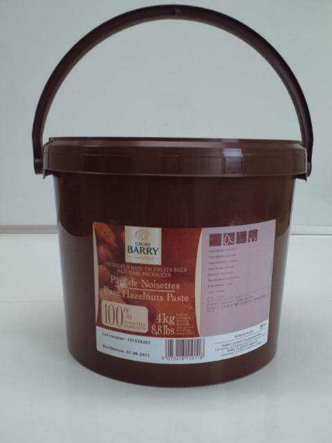 【カカオバリー】パート・ノワゼット 5kg<ヘーゼルナッツ>