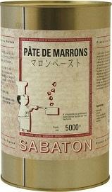 【サバトン】マロンペースト 5kg缶<ペースト>