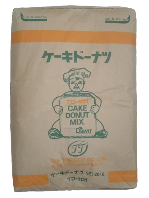 【鳥越製粉】TD-101 ケーキドーナツ 20kg<ミックス粉>