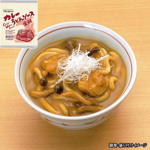 【】【Miyajima】【業務用】 カレーうどんソース金鯱(きんしゃち)1食(ダシの効いたソースとたっぷりの具) 【Miyajima】【業務用】 カレーうどんソース金鯱(きんしゃち)1食(ダシの効いたソースとたっぷりの具)【jo_62】 【】