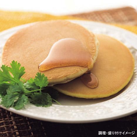 【マリンフード】 銅板焼ホットケーキ 1袋(2枚入り) (メープル入りシロップ付きパンケーキ)【冷凍食品】【re_26】 【】