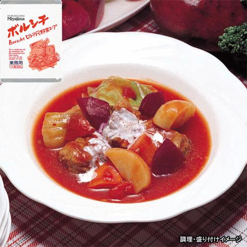 SEAL限定商品 Miyajima 業務用 ☆新作入荷☆新品 ボルシチ ロシア風野菜スープ 1食 レトルト食品 jo_62