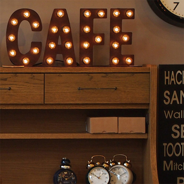 【送料無料】カフェサイン cafesign アートワークスタジオ Sign Lamp CAFE(サインランプ カフェ)