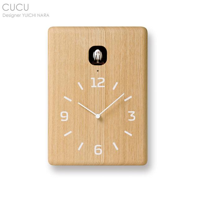 CUCU(クク) カッコー時計 ナチュラル【送料無料】