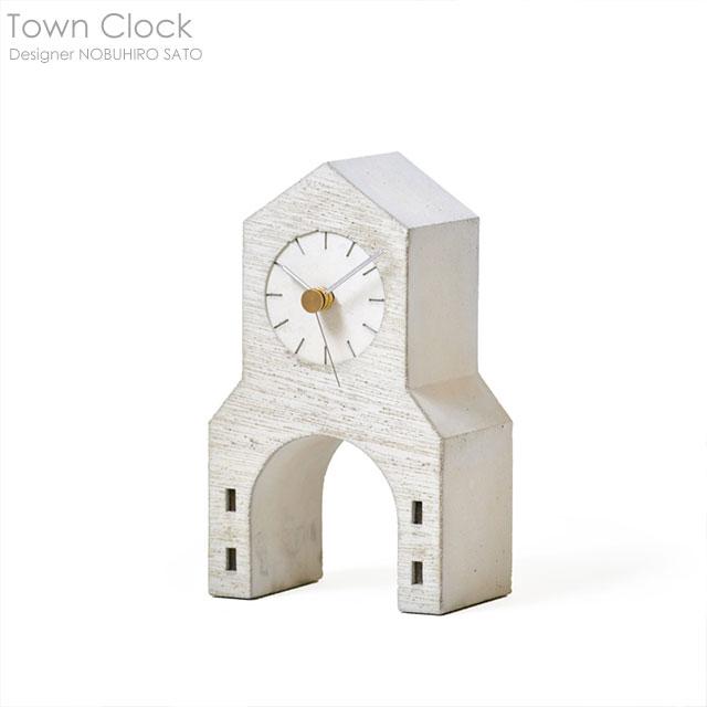Town Clock(タウンクロック) 置き時計【送料無料】