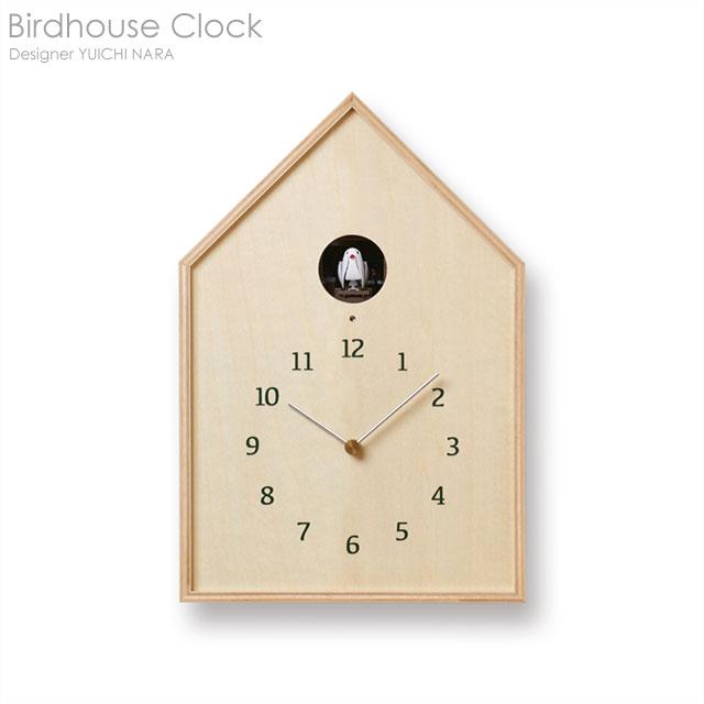 Birdhouse Clockバードハウス カッコー時計 ナチュラル【送料無料】