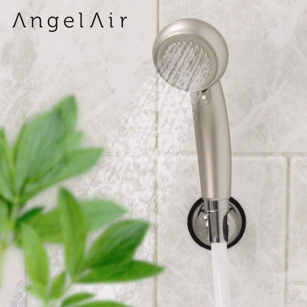 シャワーヘッド マイクロバブル エンジェルエアー プレミアム | シャンパンゴールド 水圧アップ 節水 マイクロナノバブルシャワーヘッド 節水シャワーヘッド