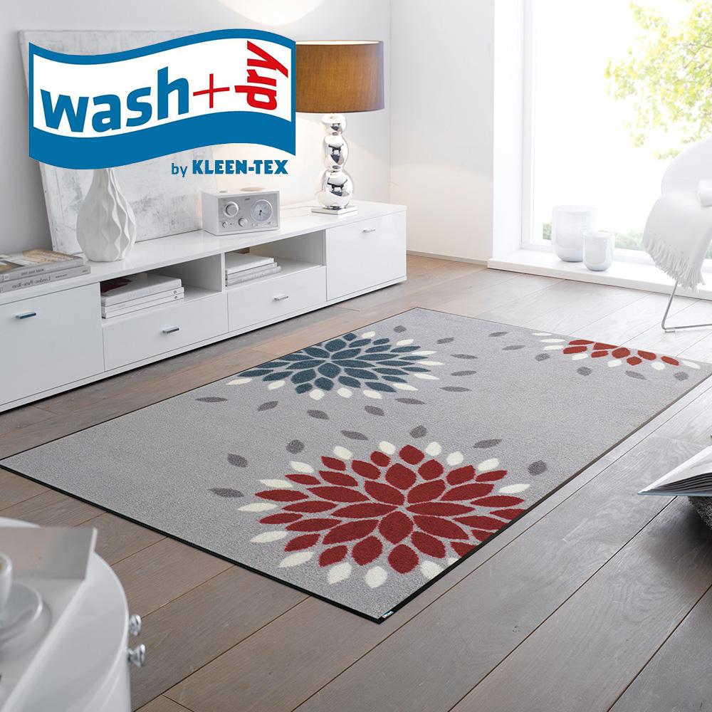 代金引換不可 デザイン フロアマット wash+dry 75cm×120cm | 玄関マット 室内 屋内 洗える 玄関 マット おしゃれ フロアマット キッチンマット リビングマット 一人暮らし