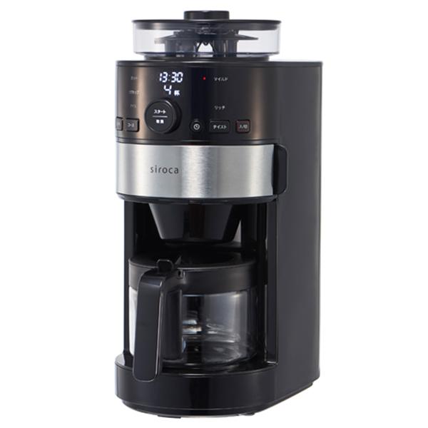 siroca コーン式全自動コーヒーメーカー SC-C111<siroca/シロカ> 【正規品】