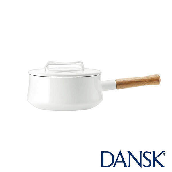 ダンスク コベンスタイルII 18cm 片手鍋 ホワイト DANSK Konbenstyle