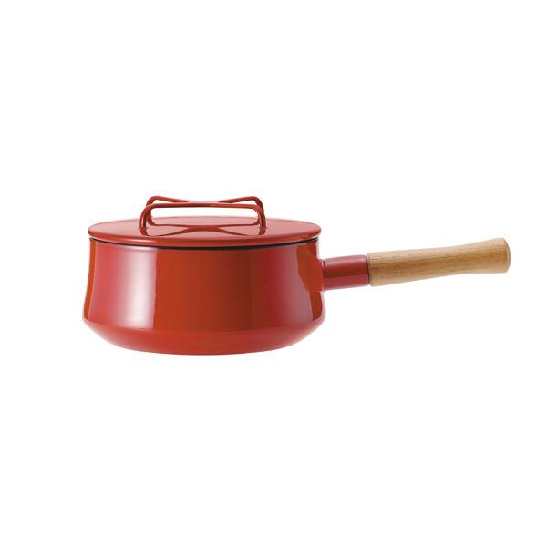 ダンスク コベンスタイルII 18cm 片手鍋 レッド DANSK Konbenstyle