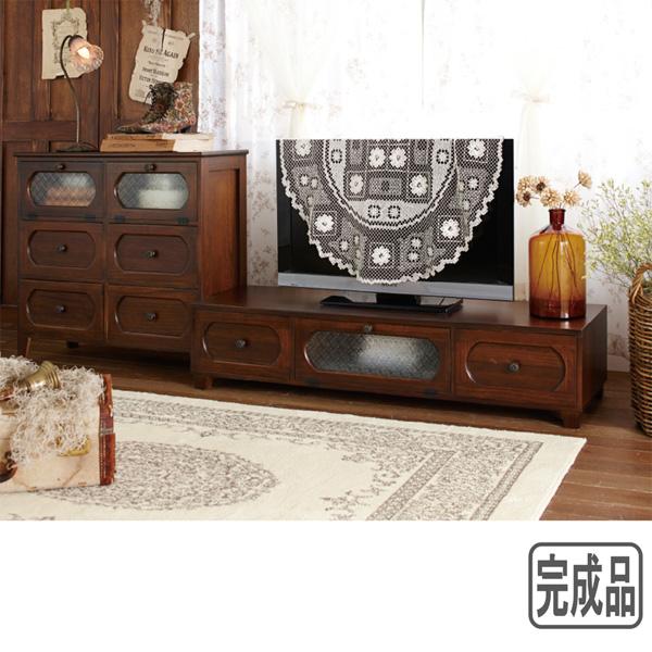 【送料無料】 ノスタルジック家具シリーズA4 E(チェスト大) (zacca) 【直送】