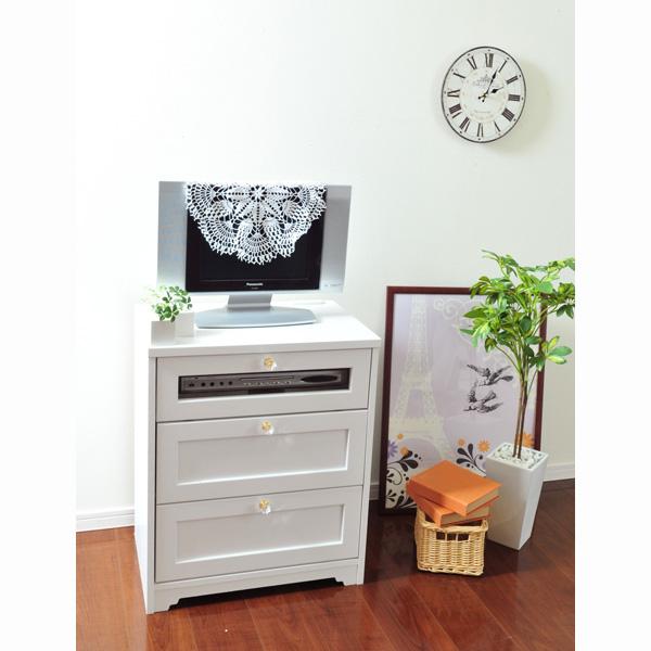 【送料無料】 選べる取っ手の家具シリーズVBQ テレビ台小 (zacca) 【直送】