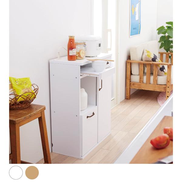 【エントリーでP5倍】 【送料無料】 薄型キッチンキャビネットF B(幅60cm) (zacca) ★ 【直送】
