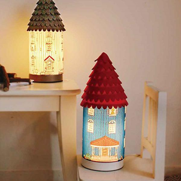 最大5000円OFFクーポン配布中 ムーミン テーブルランプ 照明 ムーミンハウス