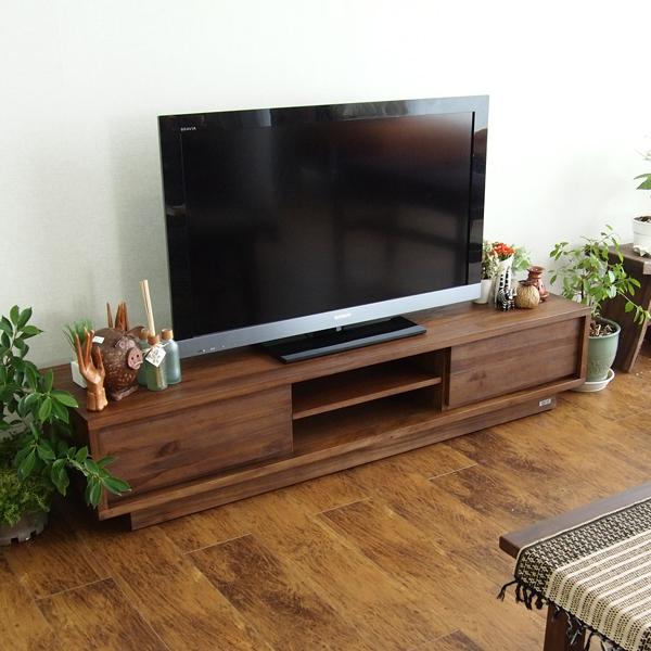 アジアン家具【@CBi(アクビィ)】VILLA TVボード 幅160cm ACW540KA【直送】