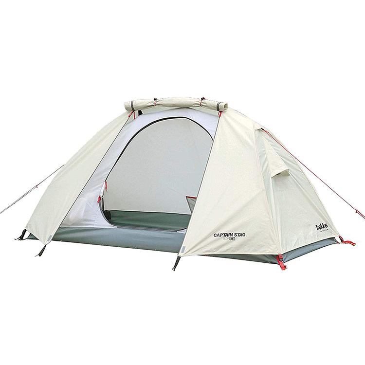 パール金属 テント ソロテント 1人用 UV・PU加工 キャリーバッグ付き トレッカー UA-40