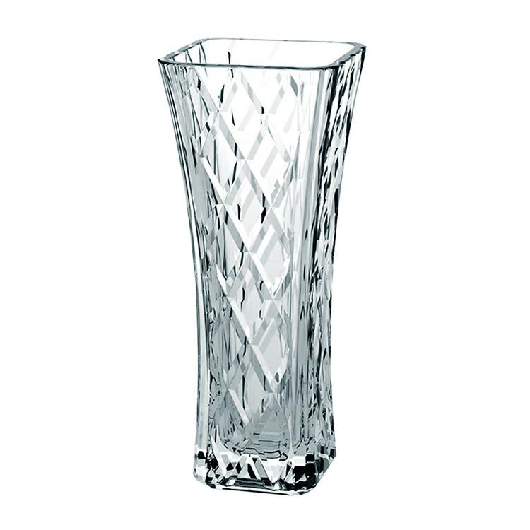 東洋佐々木ガラス フラワーベース 花瓶 ガーニッシュ 日本製 (ケース販売) 12個セット クリア 約20.3×8.5×8.5cm (P-26497-JAN) 【送料無料】