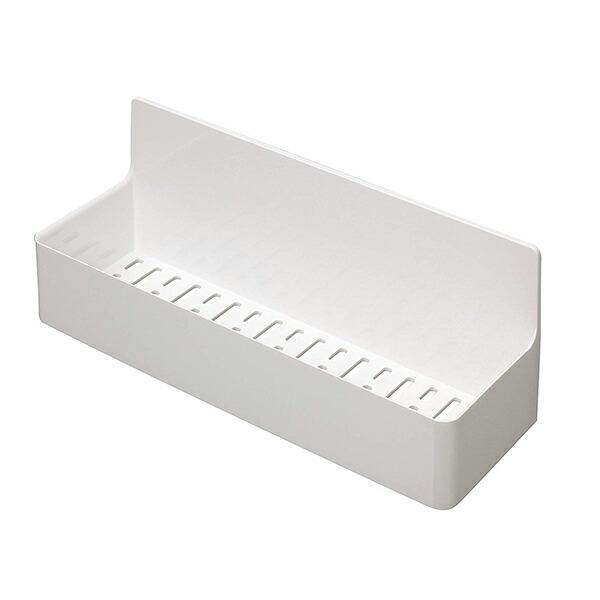 東和産業 バス 収納 浴室 磁着SQ マグネット バスポケット ワイド ホワイト 約28.3×9.4×11.2cm 39208