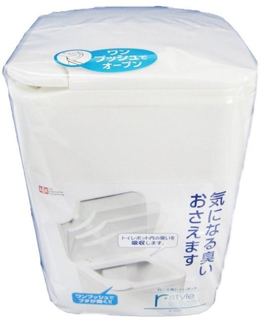 日本 トイレ用品 トレイ用品 コーナーポット レック サニタリーボックス 消臭 トイレポット B-899 RS 新色追加して再販