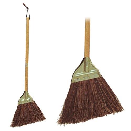 [調理][調理用品][調理小物]「ケース買い][ロット買い] 高砂 庭ほうき シルバー木柄 M 業務用 家庭用兼用
