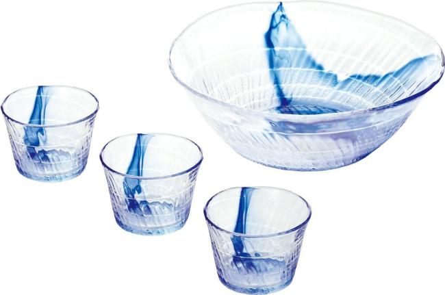 そうめん用のおしゃれなガラスの器でおすすめがあれば教えてください。
