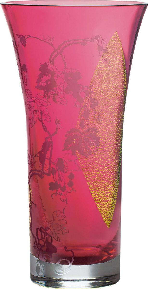 【お取り寄せ可能】【東洋佐々木ガラス】花瓶 紅玻璃 花器 (LV68357RAU-S171) 【送料無料】