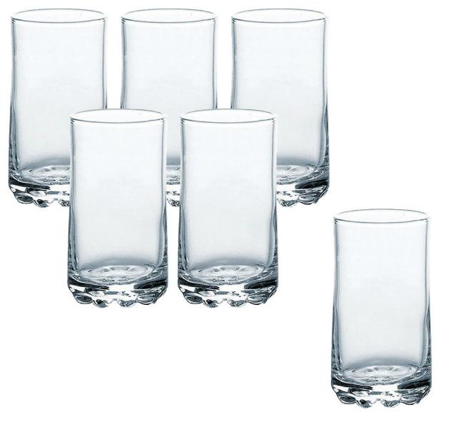 最短即日発送可 季節 春の新作シューズ満載 夏物 タンブラー 東洋佐々木ガラス バーゼル 6個 本物 CB-02134 食洗機対応 190ml 6オンス グラス セット