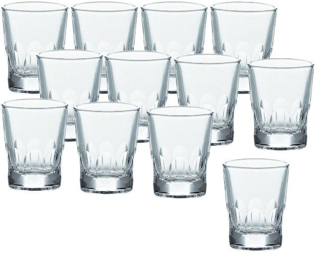 【お取り寄せ可能】【東洋佐々木ガラス】ショットグラス ラウト 60ml×12個セット P-01105-E102 (P-01105-E102) 【送料無料】