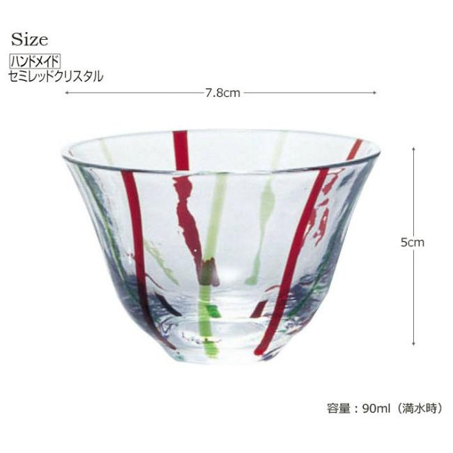 和がらす冷酒グラス 90ml (10770)