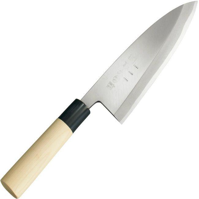 貝印 包丁 出刃 和包丁 180mm 本鋼 関孫六 金寿 (AK5218) 【送料無料】