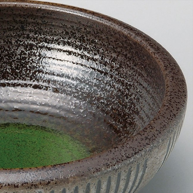 鉢 民芸 十草 括り手 5.5 深鉢 φ17×5.8cm (039-14-433)