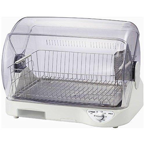 【タイガー魔法瓶】食器乾燥器(ホワイト)TIGER サラピッカ 温風式 DHG-S400 【送料無料】