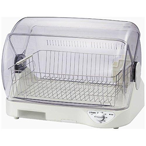 【タイガー魔法瓶】食器乾燥器(ホワイト)TIGER サラピッカ 温風式 DHG-T400 【送料無料】