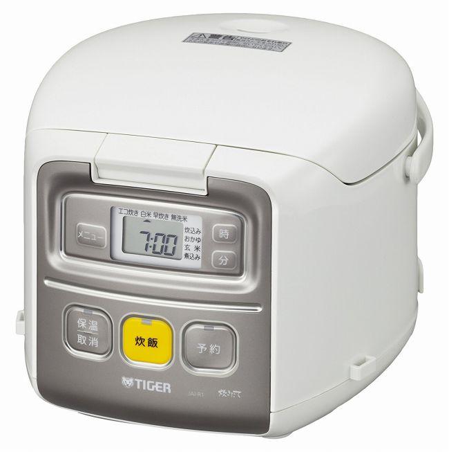 【タイガー魔法瓶】マイコン 炊飯器 3合 ホワイト 炊きたて ミニ 炊飯 ジャー JAI-R551-W Tiger 【送料無料】