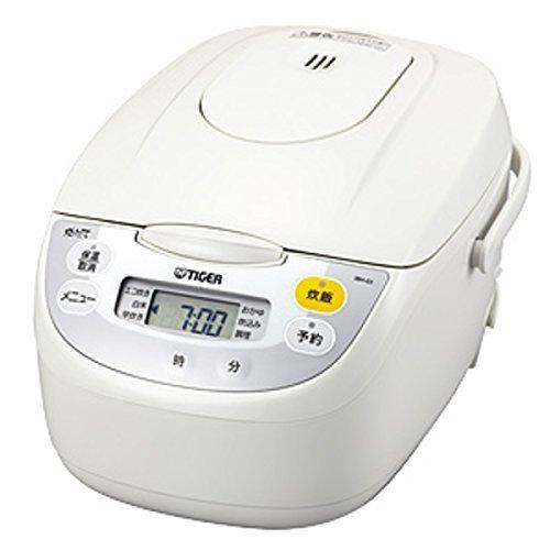 【タイガー魔法瓶】マイコン炊飯ジャー(1升炊き) ホワイト TIGER JBH-G181-W 【送料無料】