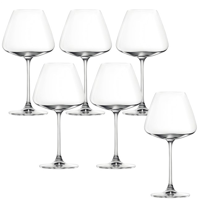 【お取り寄せ可能】【東洋佐々木ガラス】ワイングラス デザイアー 赤ワイン用 ブルゴーニュ 食洗機対応 590ml 6個セット -(RN-13285CS)