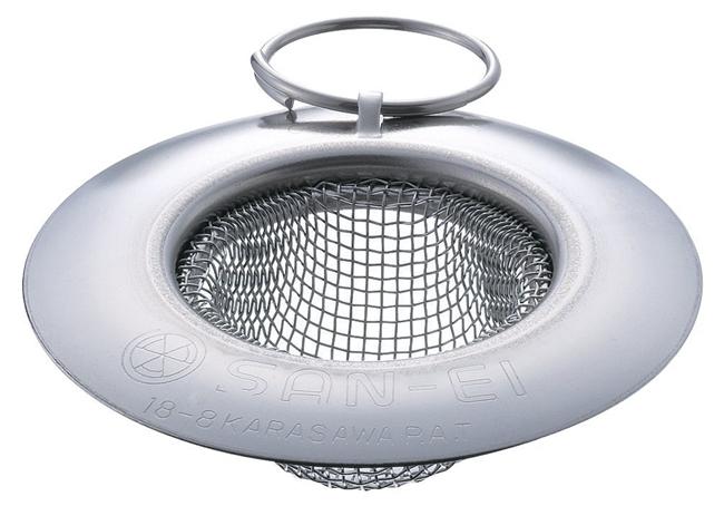[水道用品][流し用品][ゴミ受け] SANEI 排水用品 洗面所用 ツバ広ゴミこし(PH621-S) メール便