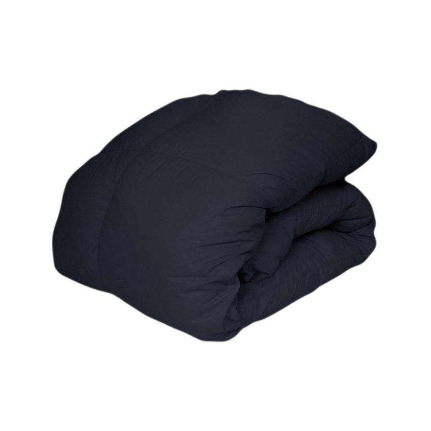 【トクダ】ホワイトダウン ウルトラライト羽毛布団 ブラック