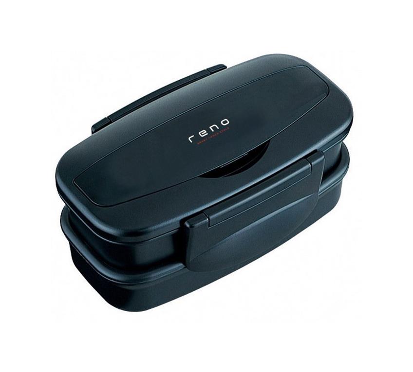 アスベル お弁当箱 1段 ブラック レノ LB-TS830 「reno」 3631