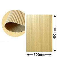 片面パットダンボール(中芯B/約3mm厚)約30cm×40cm 500枚セット【送料区分2】